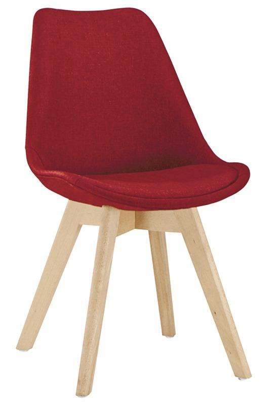 Sedia Struttura in legno, rivestimento in tessuto