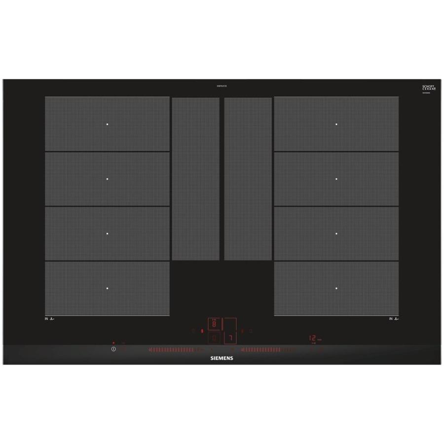 Piano Cottura a Induzione 4 Zone Cottura da 80 cm Colore Nero