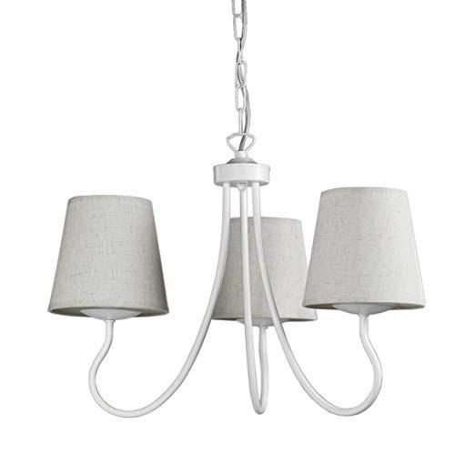 lampadario margot 3 luci bianco