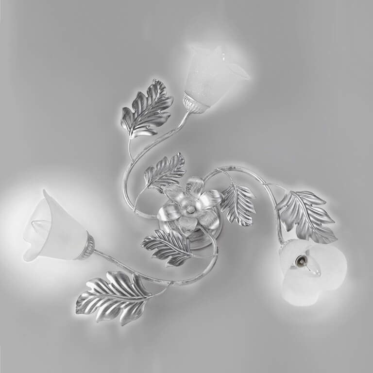 plafoniera marilena 3 luci bianco