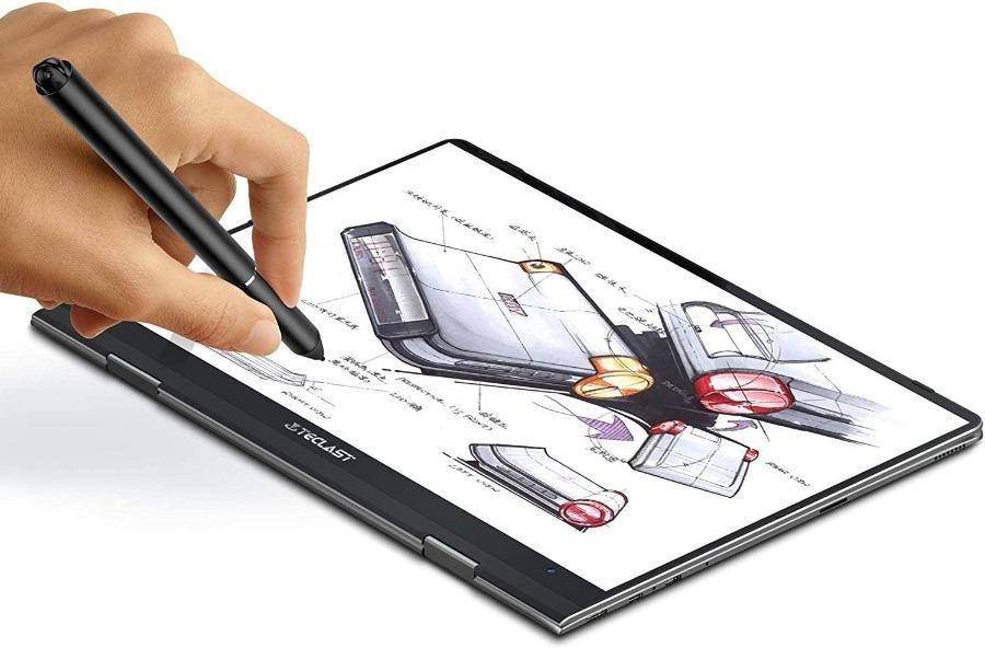 Notebook Convertibile TECLAST F5 Ultrabook da 11.6 pollici 8 GB di RAM, 256 GB SSD