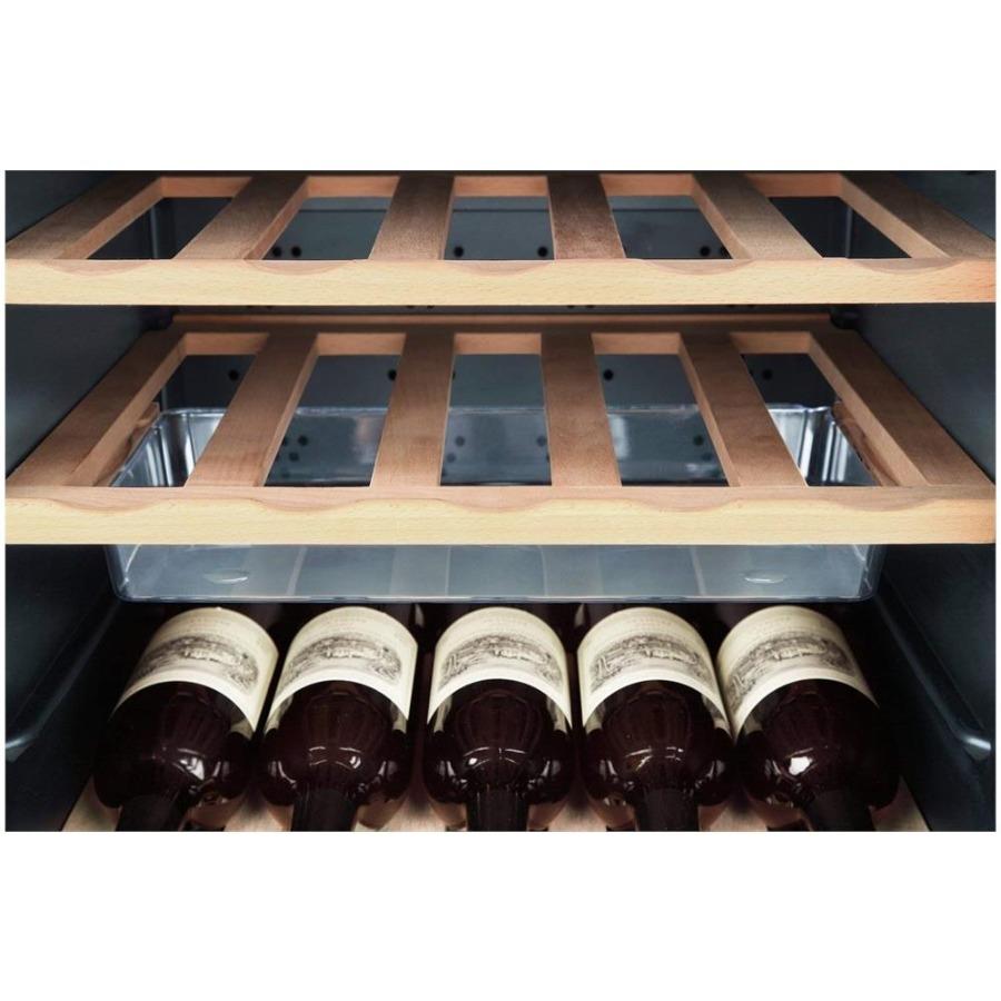 Cantinetta Vino,Capacità 50 Bottiglie Colore Nero