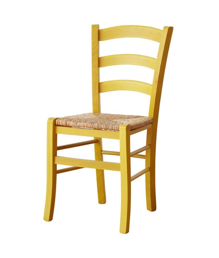 Sedia in legno colorata