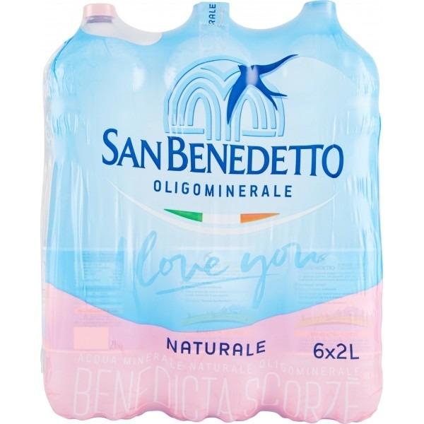 San Benedetto acqua naturale lt.2 x6