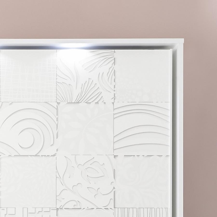 Armadio scorrevole Xaos bianco