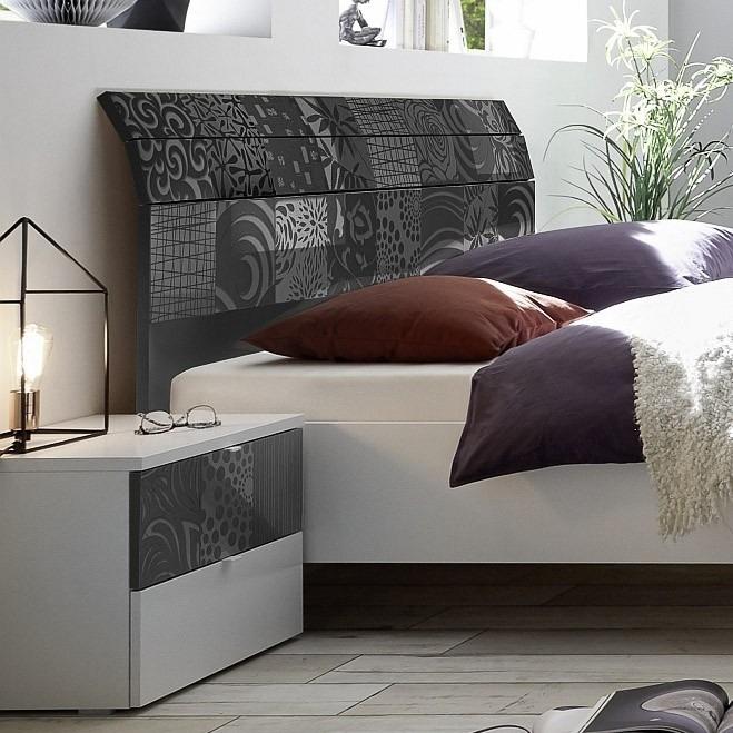 Camera Completa matrimoniale   con letto curvo