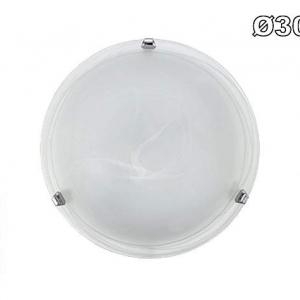 plafoniera duna bianco 1004/MBI