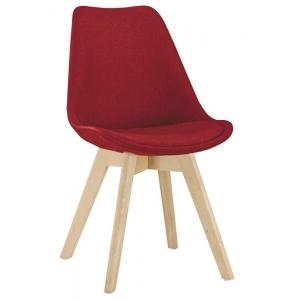 Sedia Struttura in legno, rivestimento in tessuto 1150-72B R
