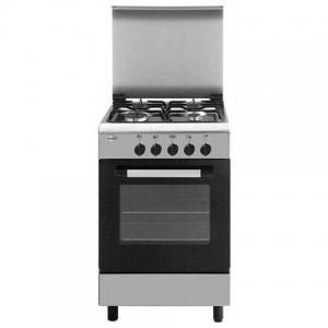 Cucina Elettrica  4 Fuochi Gas Forno Elettrico  GLEM GAS AE55MI3