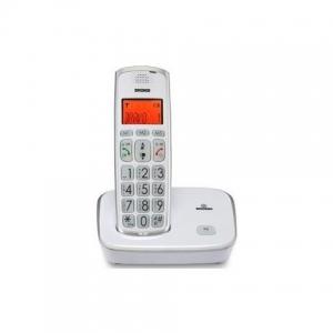 Telefono  Cordless con tasti grandi colore Bianco BRONDI BRAVO GOLD 2