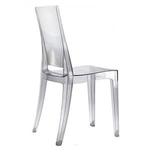 Sedia in policarbonato trasparente 694