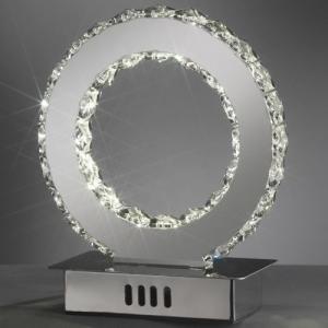 lumetto saturno led/cristalli 4809/l