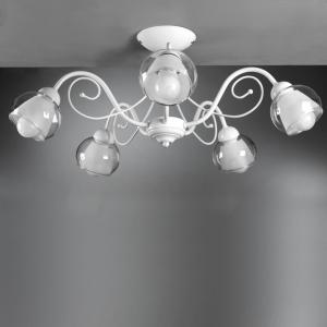 plafoniera camilla 5 luci  4822/pl5