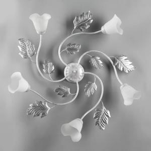 plafoniera marilena 5 luci bianco  4836/pl5