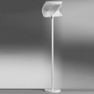 piantana cartoccio bianco senza lampadine 4841/ptb