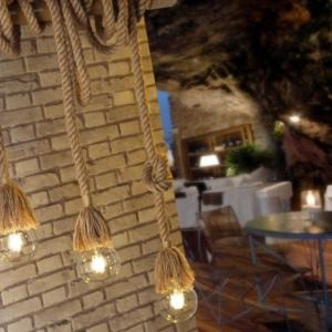 sosp.mauli bamboo corde 4 luci  4993/s4