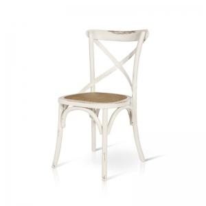 sedia bianca legno 780