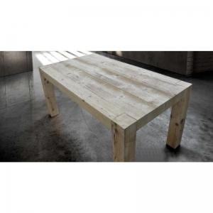 tavolo in legno invecchiato con 2 allunghe  786
