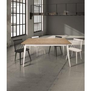 Tavolo in abete spazzolato allungabile 140×85 cm – 190×85 cm 823