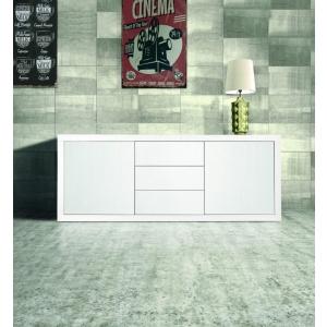 Credenza in legno di colore bianco 870