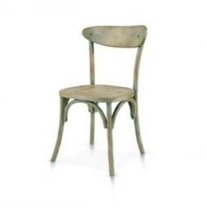 sedia verde consumato  915