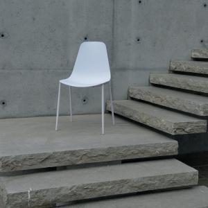 sedia bianca 990