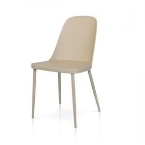 sedie tortora con seduta in polipropilene 989 T