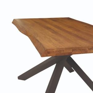 tavolo massello rovere nodato  1646