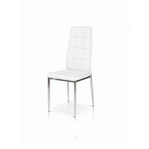 sedia bianca struttura in metallo 932 W