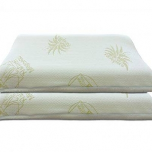 cuscini in memory foam con fodera in Aloe Vera memory foam con fodera in Aloe