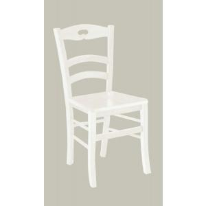 Sedia in stile classico colore laccato bianco  1002
