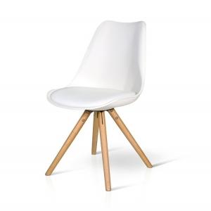 Sedie in polipropilene con seduta imbottita 726