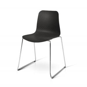 sedia polipropilene acciaio impilabile 704