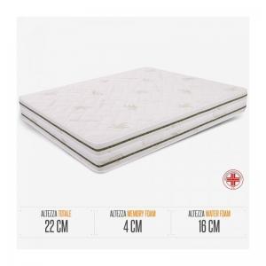 Materasso Matrimoniale Memory Foam  ares - MAT-memory-160x190x22