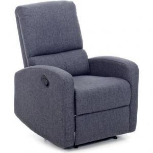 Poltrona Relax Reclinabile Manuale in Tessuto  Blu recliner fiorella blu