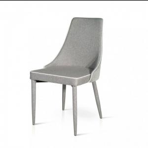 Sedia tessuto con seduta e schienale imbottiti 700