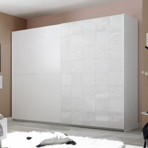 Camera Completa con letto curvo  Xaos bianca